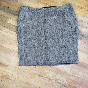 Lane Bryant skirt tweed look size 22 lined - I